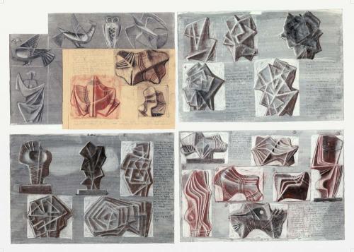 Studies for sculptures