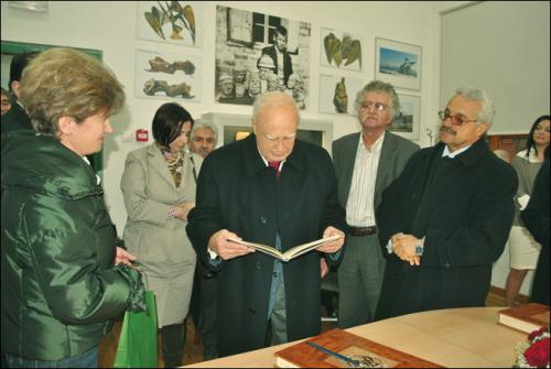 Visit of the President of the Hellenic Republic, Mr. Karolos Papoulias - 22/02/2010