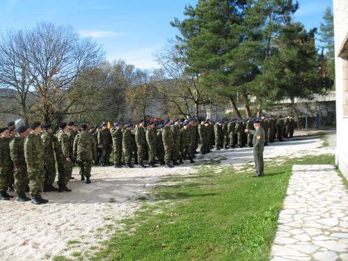Επίσκεψη του στρατού στο Μουσείο Παπαγιάννη