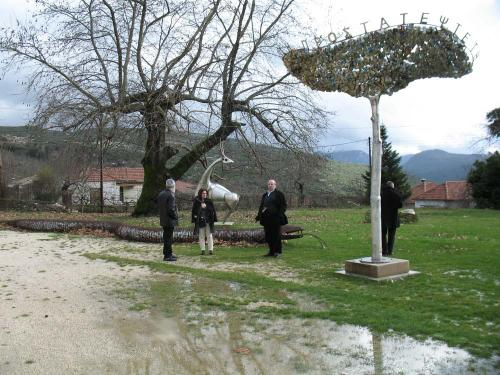 Visitors at Papagiannis Museum