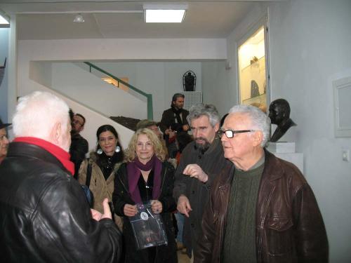 Greek Chamber of Fine Arts visit
