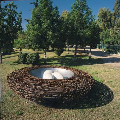 Sculpture Symposium at the Municipality of Egaleo, 2001