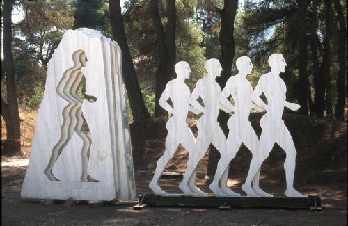 Sculpture Symposium at Dionysos, Penteli, 2004