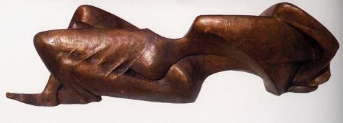 Erotic figure, 1986 (reverse side)